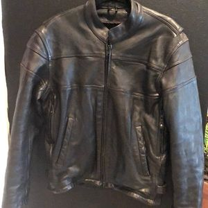 Other - Heavy Authentic leather moto jacket